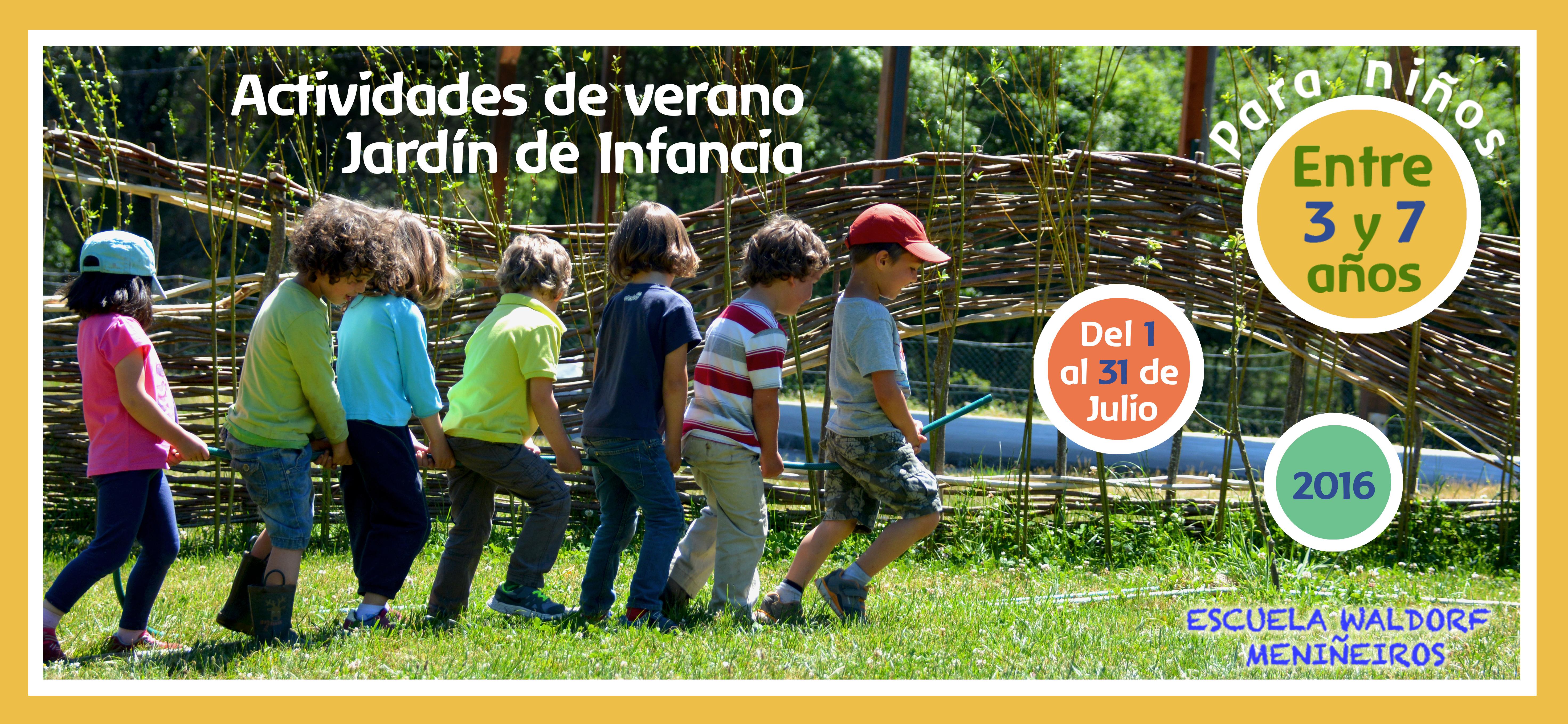 Actividades de verano para jard n de infancia escuela for El jardin de verano